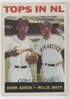 Tops in NL (Hank Aaron, Willie Mays)