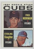 1964 Rookie Stars - Fred Norman, Sterling Slaughter