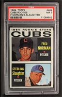 Fred Norman, Sterling Slaughter [PSA 7]