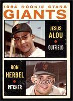 1964 Rookie Stars - Jesus Alou, Ron Herbel [GOOD]