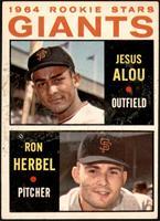 1964 Rookie Stars - Jesus Alou, Ron Herbel [VGEX]