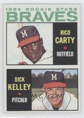1964 Topps - [Base] #476 - 1964 Rookie Stars (Rico Carty, Dick Kelley)