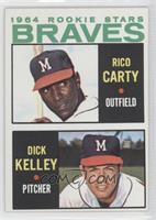 1964 Rookie Stars (Rico Carty, Dick Kelley)