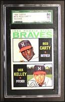1964 Rookie Stars (Rico Carty, Dick Kelley) [SGC 86]
