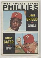 1964 Rookie Stars - Johnny Briggs, Danny Cater [NoneGoodtoVG&…
