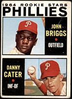 1964 Rookie Stars - Johnny Briggs, Danny Cater [FAIR]