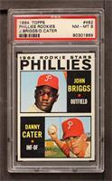 Johnny Briggs, Danny Cater [PSA8NM‑MT]