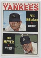 1964 Rookie Stars Yankees (Pete Mikkelsen, Bob Meyer) [Good to VG&#82…