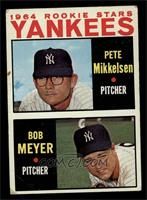 1964 Rookie Stars Yankees (Pete Mikkelsen, Bob Meyer) [VG]