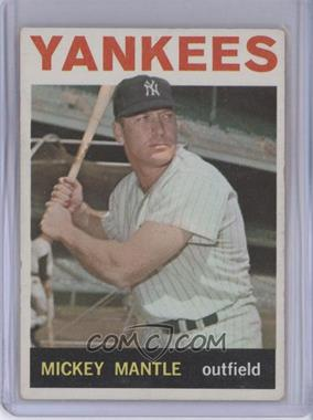 1964 Topps - [Base] #50 - Mickey Mantle [Good to VG‑EX]