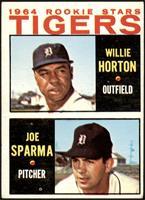 1964 Rookie Stars - Willie Horton, Joe Sparma [VG]