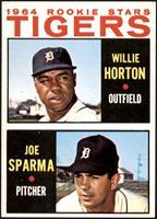 1964 Rookie Stars - Willie Horton, Joe Sparma [NM]