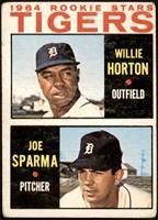 1964 Rookie Stars - Willie Horton, Joe Sparma [FAIR]