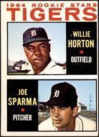 1964 Rookie Stars - Willie Horton, Joe Sparma [VGEX]