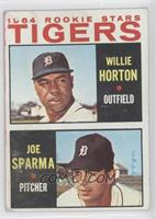 Willie Horton, Joe Sparma [Good to VG‑EX]