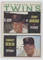 Rookie Stars Twins (Jerry Arrigo, Dwight Siebler) [NoneGoodto…