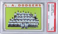Los Angeles Dodgers Team [PSA 7]