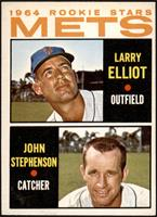 1964 Rookie Stars - Larry Elliot, John Stephenson [VGEX]