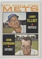 1964 Rookie Stars - Larry Elliot, John Stephenson