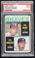 High # - Phil Roof, Phil Niekro [PSA 3 VG]