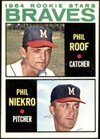 Phil Roof, Phil Niekro [EX]
