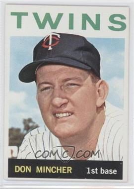 1964 Topps - [Base] #542 - Don Mincher