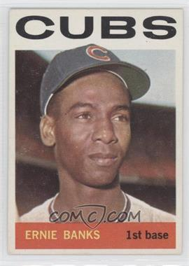 1964 Topps - [Base] #55 - Ernie Banks