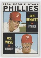 Phillies Rookie Stars (Dave Bennett, Rick Wise)