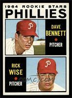 Phillies Rookie Stars (Dave Bennett, Rick Wise) [EXMT]