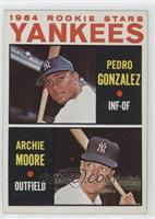 Yankees Rookie Stars (Pedro Gonzalez, Archie Moore) [GoodtoVG&#8209…