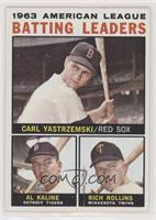 American League Batting Leaders (Carl Yastrzemski, Al Kaline, Rich Rollins) [Po…