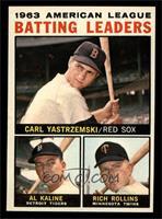 American League Batting Leaders (Carl Yastrzemski, Al Kaline, Rich Rollins) [NM]