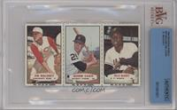Jim Maloney, Norm Cash, Willie McCovey [BVGAuthentic]