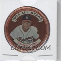 1964 Topps Coins - [Base] #160 - Warren Spahn