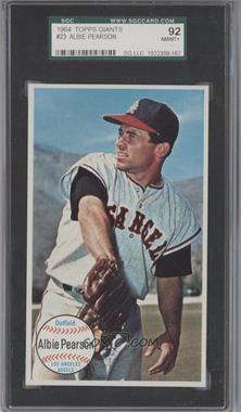 1964 Topps Giants - [Base] #23 - Albie Pearson [SGC92]