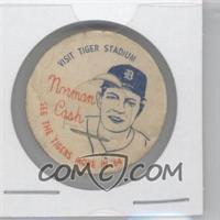 1964 Twin Pines Detroit Tigers Milk Bottle Caps - [Base] #NOCA - Norm Cash