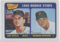 1965 Rookie Stars - Dick Estelle, Masanori Murakami [GoodtoVG‑…