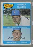 1964 ERA Leaders (Sandy Koufax, Don Drysdale) [Good to VG‑EX]