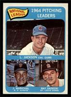 Larry Jackson, Juan Marichal, Ray Sadecki [EX]