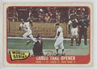 1964 World Series - Game #1 / Cards Take Opener [Good to VG‑EX]
