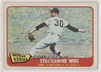 World Series Game 2: Stottlemyre Wins (Mel Stottlemyre) [Good to VG&#…