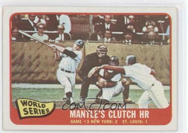 1965 Topps - [Base] #134 - Mickey Mantle [GoodtoVG‑EX]