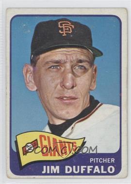 1965 Topps - [Base] #159 - Jim Duffalo [GoodtoVG‑EX]
