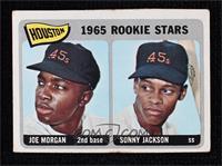 1965 Rookie Stars - Joe Morgan, Sonny Jackson [Noted]