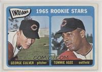 1965 Rookie Stars - George Culver, Tommie Agee