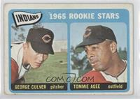George Culver, Tommie Agee [Good to VG‑EX]