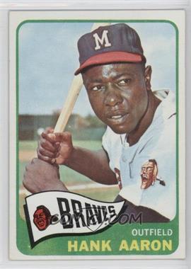 1965 Topps - [Base] #170 - Hank Aaron