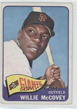 1965 Topps - [Base] #176 - Willie McCovey