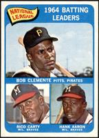 Roberto Clemente, Rico Carty, Hank Aaron [NM MT]