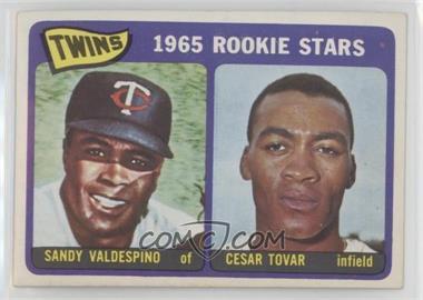 1965 Topps - [Base] #201 - Sandy Valdespino, Cesar Tovar